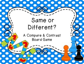 Compare & Contrast Board Game