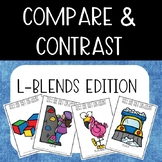 Compare & Contrast Card Game {L-Blends}