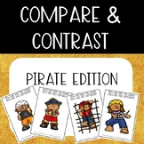 Compare & Contrast Card Game {Pirate Edition}