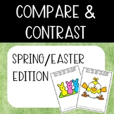 Compare & Contrast Card Game {Springtime/Easter Edition}