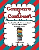 Compare & Contrast: Character Adventures Anchor and Process Charts