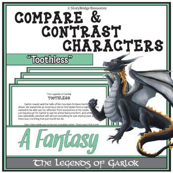 Compare & Contrast Characters-A Fantasy Short Story for Reading Comprehension
