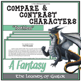 Compare & Contrast Characters- A Fantasy Short Story for R