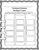 6 Compare & Contrast Charts 4-8: A Best Practice for Reading Comprehension
