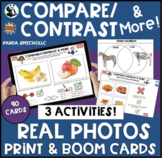 Compare/Contrast & More Cards (Real Photos) Digital & Prin