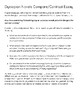 Compare & Contrast Essay Information Package