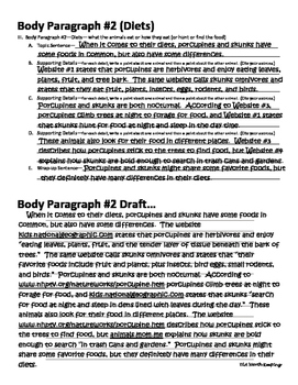 Comparecontrast Essay Outlining And Drafting Booklet By Ela Worth  Comparecontrast Essay Outlining And Drafting Booklet Research Paper Essay Format also What Is An Essay Thesis  Science Essays Topics