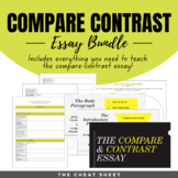 Compare Contrast Essay Writing - for Print & Google Classroom!