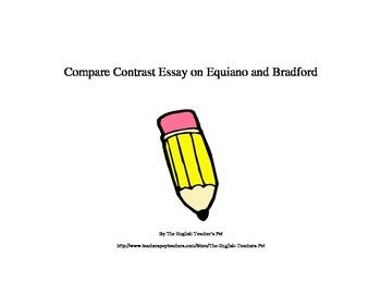 Compare Contrast Essay on Equiano and Bradford