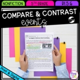 Compare & Contrast Events from Multiple Accounts- 5th Grade RI.5.6