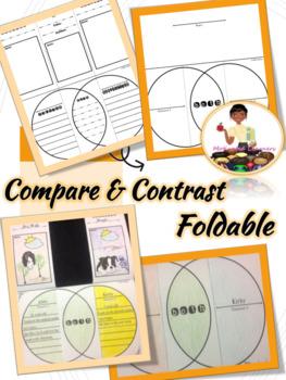 Compare & Contrast Interactive Foldable(s)