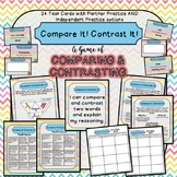 Compare & Contrast Game Task Cards