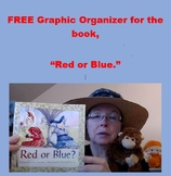 """Compare/Contrast Graphic Organizer for """"Red or Blue."""" (kin"""