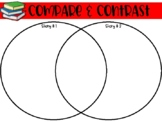 Compare & Contrast Graphic Organizers for Fiction Texts / RL.3.9