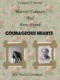 Compare/Contrast:  Harriet Tubman and Anne Frank
