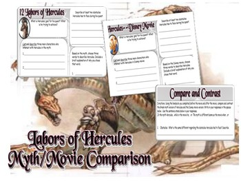 Compare/Contrast Hercules Myth/Film Activity