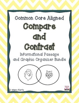 Compare & Contrast Informational Bundle - Common Core Aligned