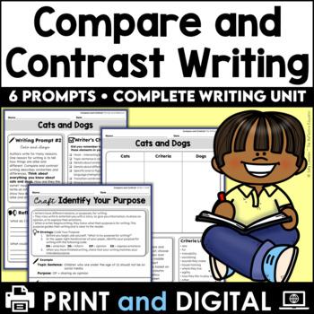 Compare & Contrast Informative Writing Unit