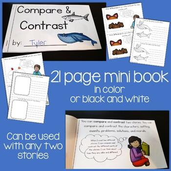 Compare & Contrast Interactive Mini Book {RL.2.9}