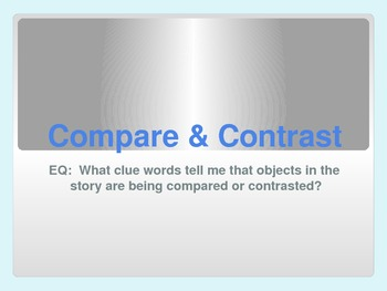 Compare & Contrast: Key Words