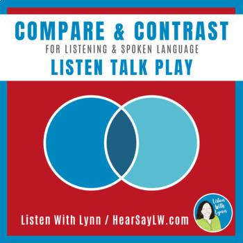 Compare & Contrast LISTEN   TALK   PLAY