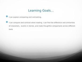 Compare & Contrast Lesson