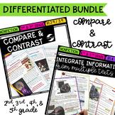 Compare & Contrast Nonfiction Bundle - 2nd, 3rd, 4th, & 5th Grades