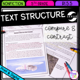 Compare & Contrast Nonfiction Text Structure- 5th Grade RI.5.5