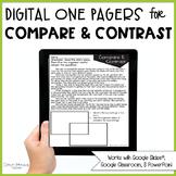 Compare & Contrast Passages (Print & Digital)