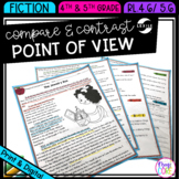 Compare and Contrast Point of View - 4th Grade RL.4.6 & 5th Grade RL.5.6