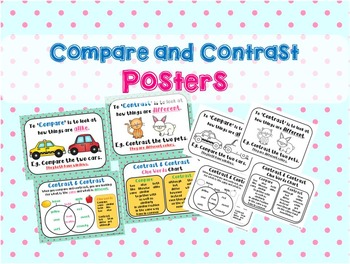 Compare Contrast Posters