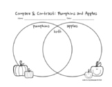 Compare & Contrast: Pumpkins and Apples