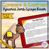 Compare & Contrast Nonfiction Texts Escape Room - 2nd & 3r