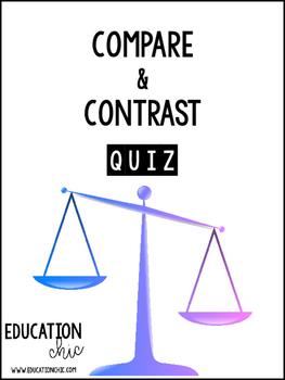 Compare Contrast Quiz