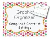 Compare and Contrast Setting Graphic Organizer