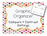 Compare and Contrast Setting Graphic Organizer