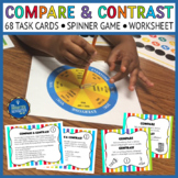 Compare Contrast Task Cards & Game