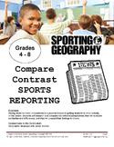 Compare Contrast Sports Reporting
