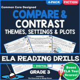 Compare & Contrast Stories: ELA Reading Comprehension Worksheets   GRADE 3