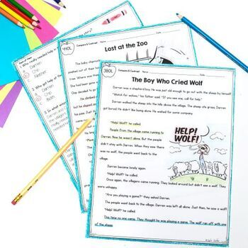 Compare & Contrast Stories - 1st Grade RL1.9