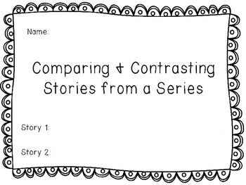 Compare and Contrast Stories from a Series