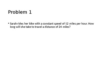 Compare & Contrast Strategy || Distance Rate Problems