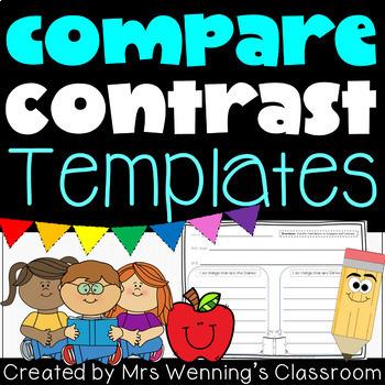 Compare & Contrast Templates!