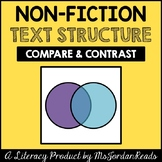 Compare & Contrast -- Non-Fiction Text Structure Resource