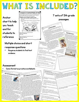 Compare & Contrast Topics from Different Points of View- 5th Grade RI.5.6