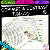 Compare and Contrast Topics from Different Points of View 5th Grade RI.5.6