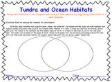 Compare & Contrast Tundra & Ocean Habitats