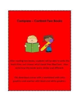Compare - Contrast Two Books