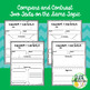 Compare & Contrast Two Texts Graphic Organizers