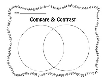 Compare & Contrast Venn Diagram